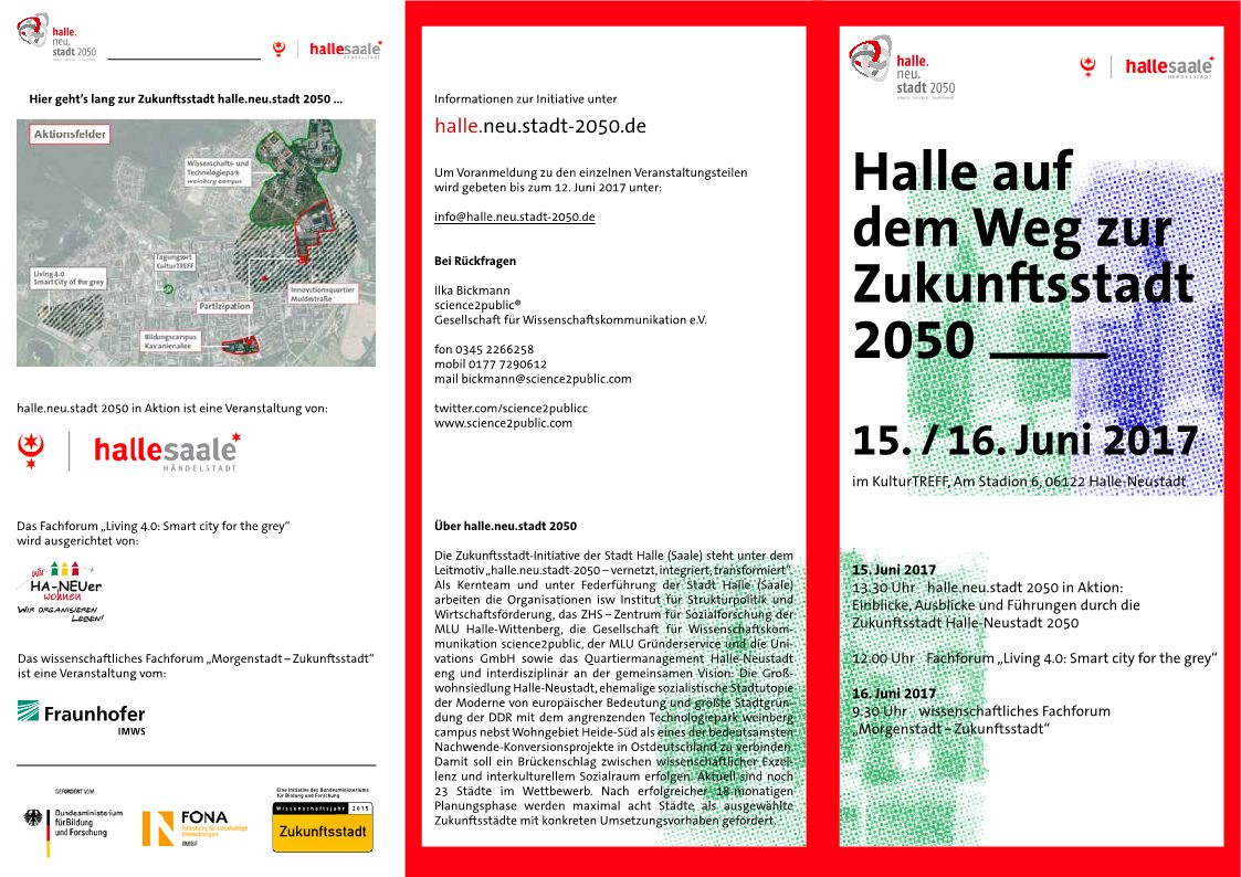 "Forum ""halle.neu.stadt 2050 in Aktion"""